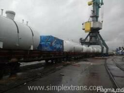 Transport of cargo from Turkey to Uzbekistan