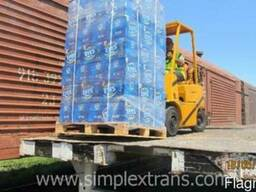 Transportation of cargo from Turkey to Turkmenistan.