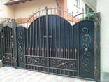 Ворота решетки перила заборы навесы - фото 5