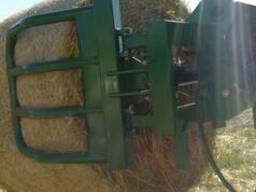 Захват для тюков на любой трактор или погрузчик - фото 3
